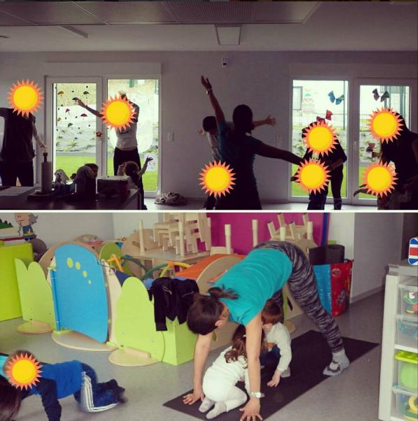 yoga creche